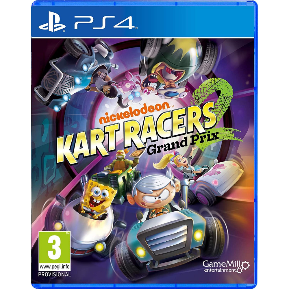 NICKELODEON KART RACERS 2 GRAND PRIX - PS4