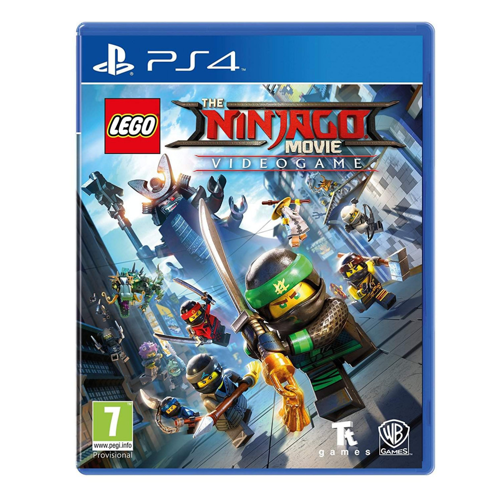 LEGO THE NINJAGO PS4 UK OCCASION