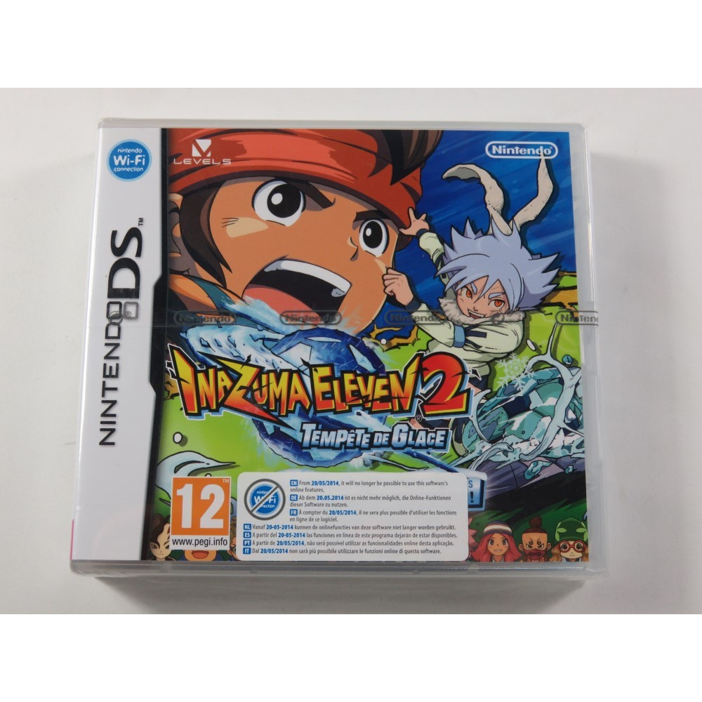 INAZUMA ELEVEN 2 TEMPETE DE GLACE NDS FR NEW