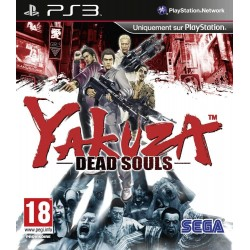 YAKUZA DEAD SOULS PS3 FR OCCASION
