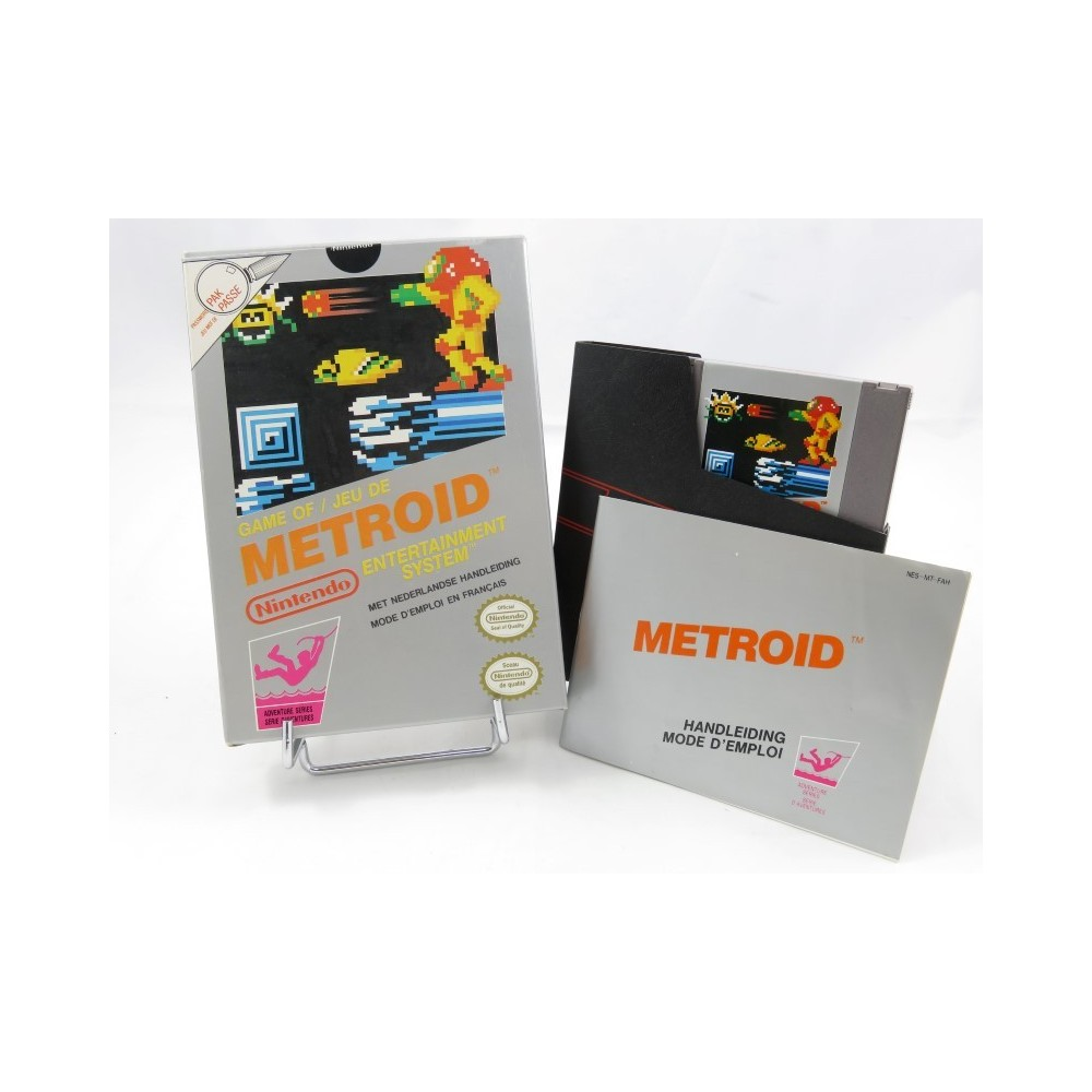 METROID NES PAL B FAH (NEAR MINT)