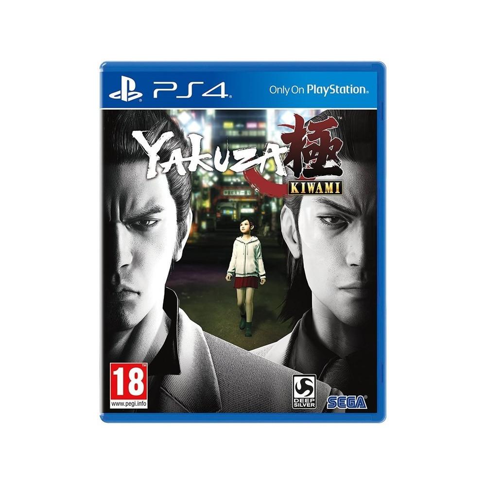 YAKUZA KIWAMI PS4 UK OCCASION