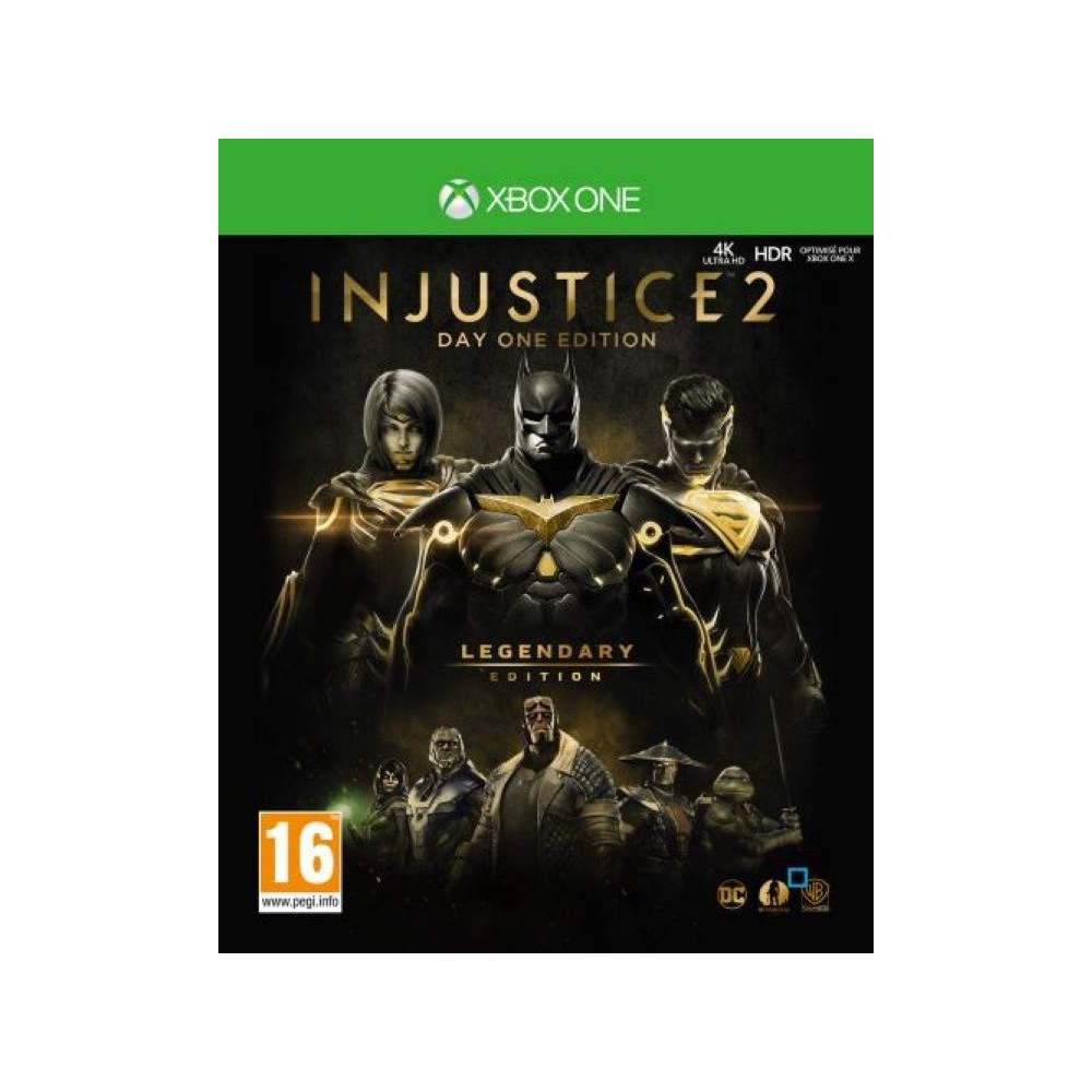 INJUSTICE 2 DAY ONE EDITION LEGENDARY EDITION XBOX ONE FR OCCASION