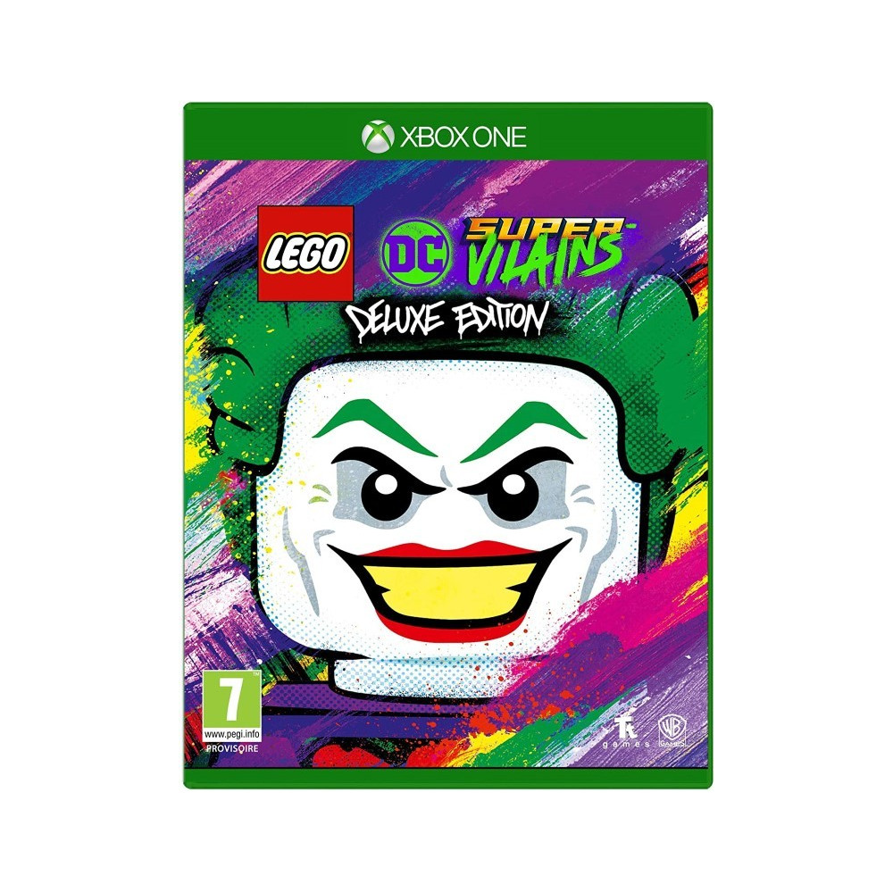 LEGO DC SUPER VILAINS DELUXE EDITION XBOX FR ONE OCCASION