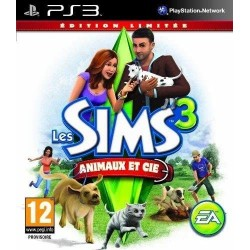 LES SIMS 3 ANIMAUX & CIE EDITION LIMITEE PS3 FR OCCASION