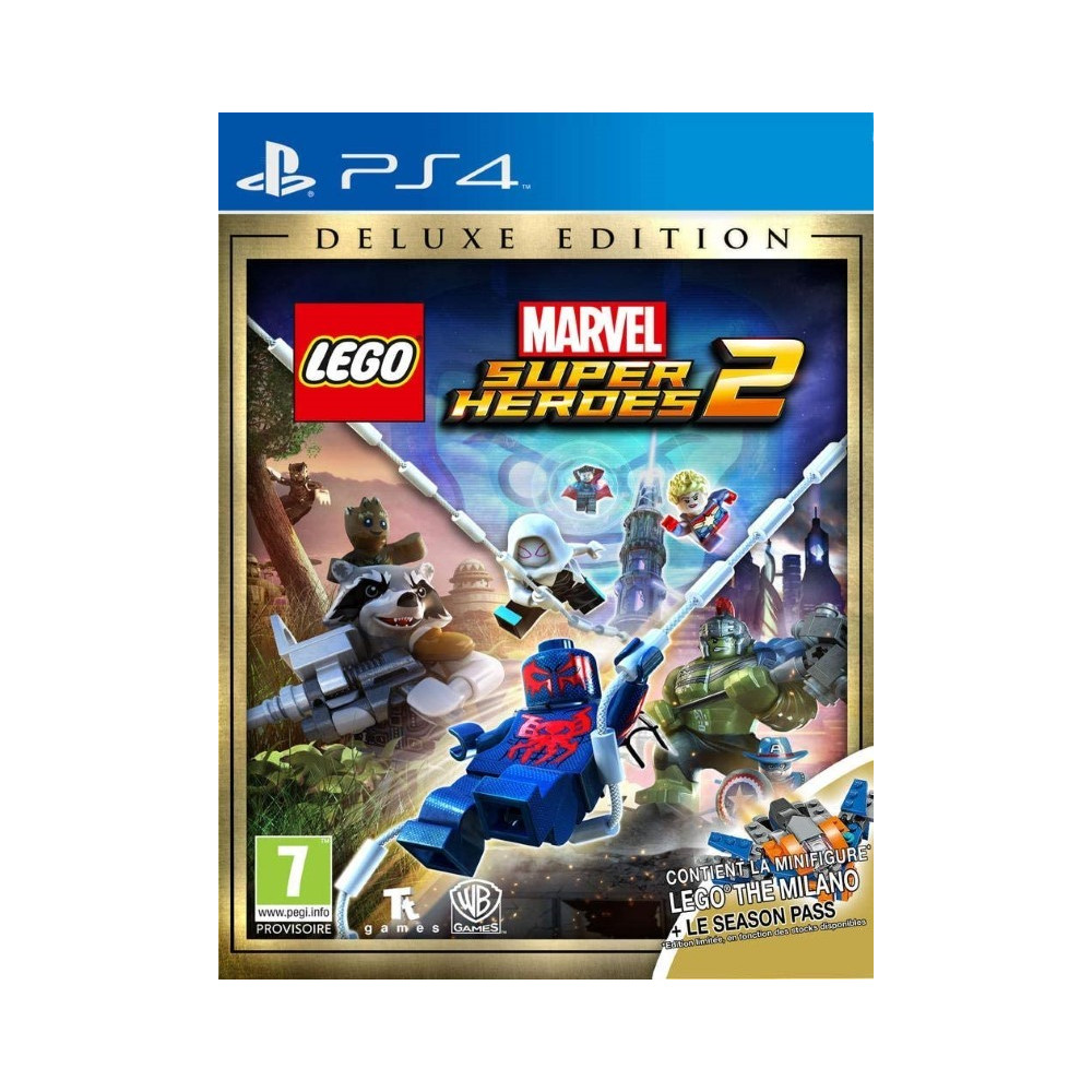 LEGO MARVEL SUPER HEROES 2 DELUXE EDITION PS4 FR NEW