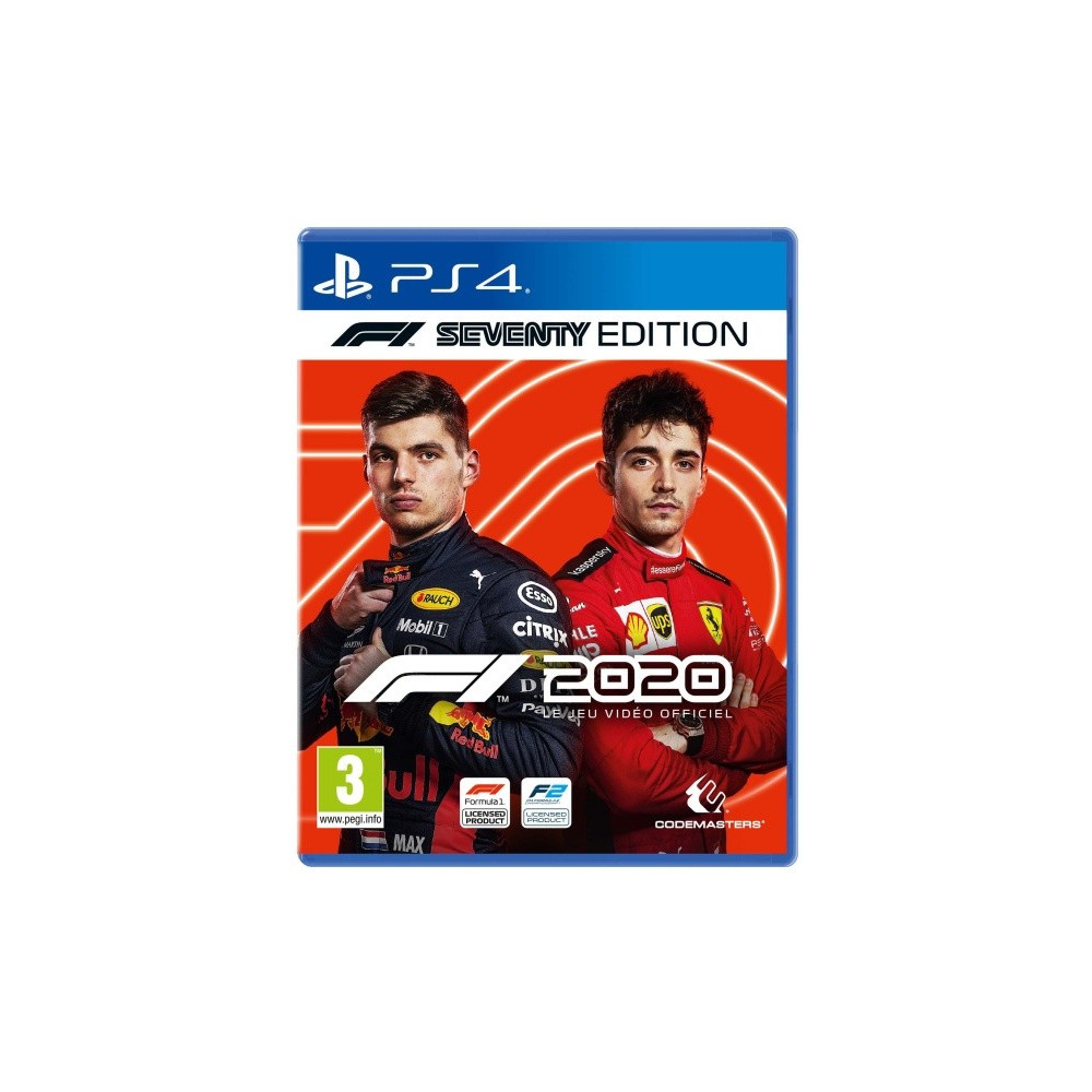 F1 2020 SEVENTY EDITION PS4 FR NEW