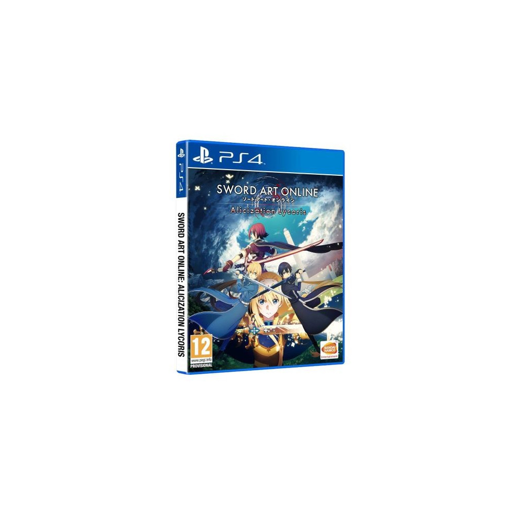 SWORD ART ON LINE ALICIZATION LYCORIS PS4 FR NEW