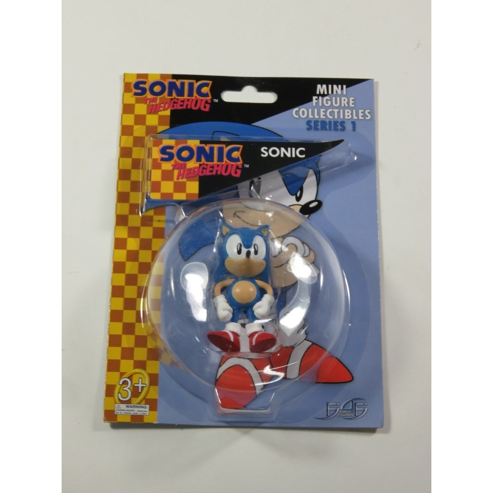 SONIC THE HEDGEHOG MINI FIGURE COLLECTIBLES SERIES 1 SONIC NEW