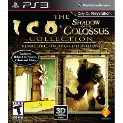 ICO & SHADOW OF THE COLOSSUS COLLECTION PS3 USA OCCASION SANS NOTICE