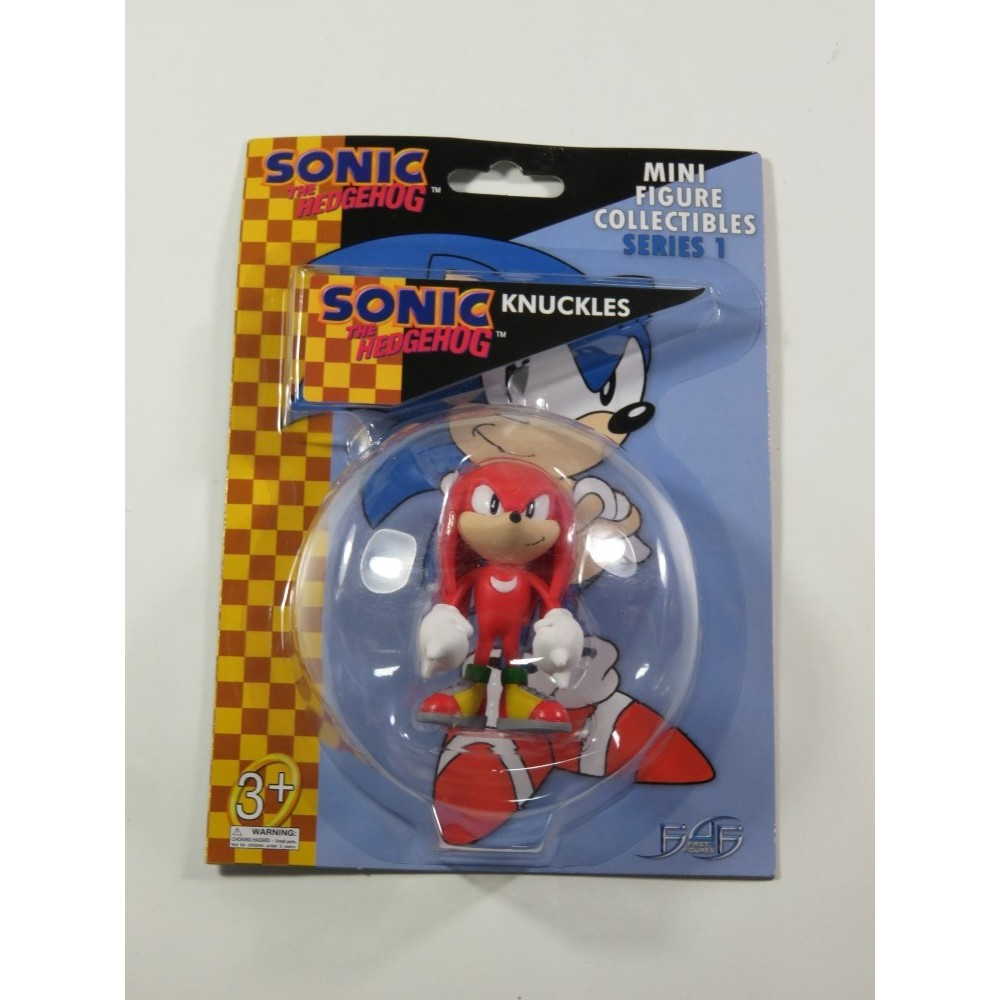 SONIC THE HEDGEHOG MINI FIGURE COLLECTIBLES SERIES 1 KNUCKLES NEW