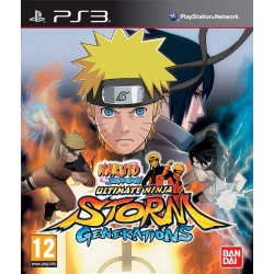 NARUTO SHIPPUDEN: ULTIMATE NINJA STORM GENERATIONS PS3 FR OCCASION