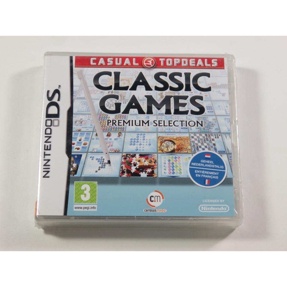 CLASSIC GAMES NDS EURO FR NEW
