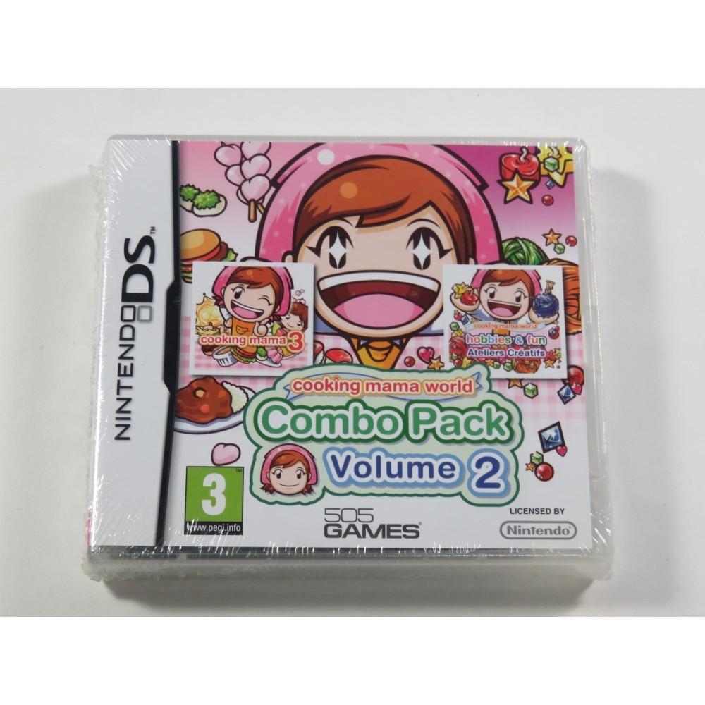 COOKING MAMA PACK VOL.2 NDS FR NEW