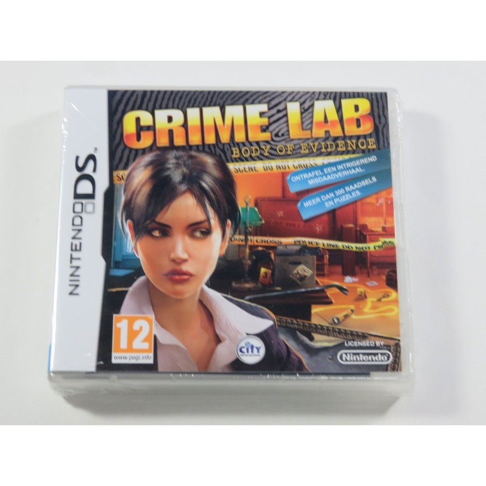 CRIME LAB BODY OF EVIDENCE NDS NL NEW (JEU EN UK/ESP/IT/NL)