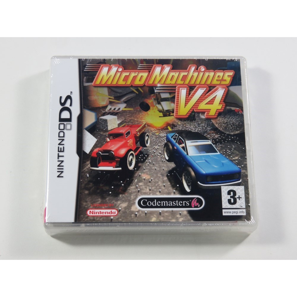 MICRO MACHINES V4 NDS FR NEW