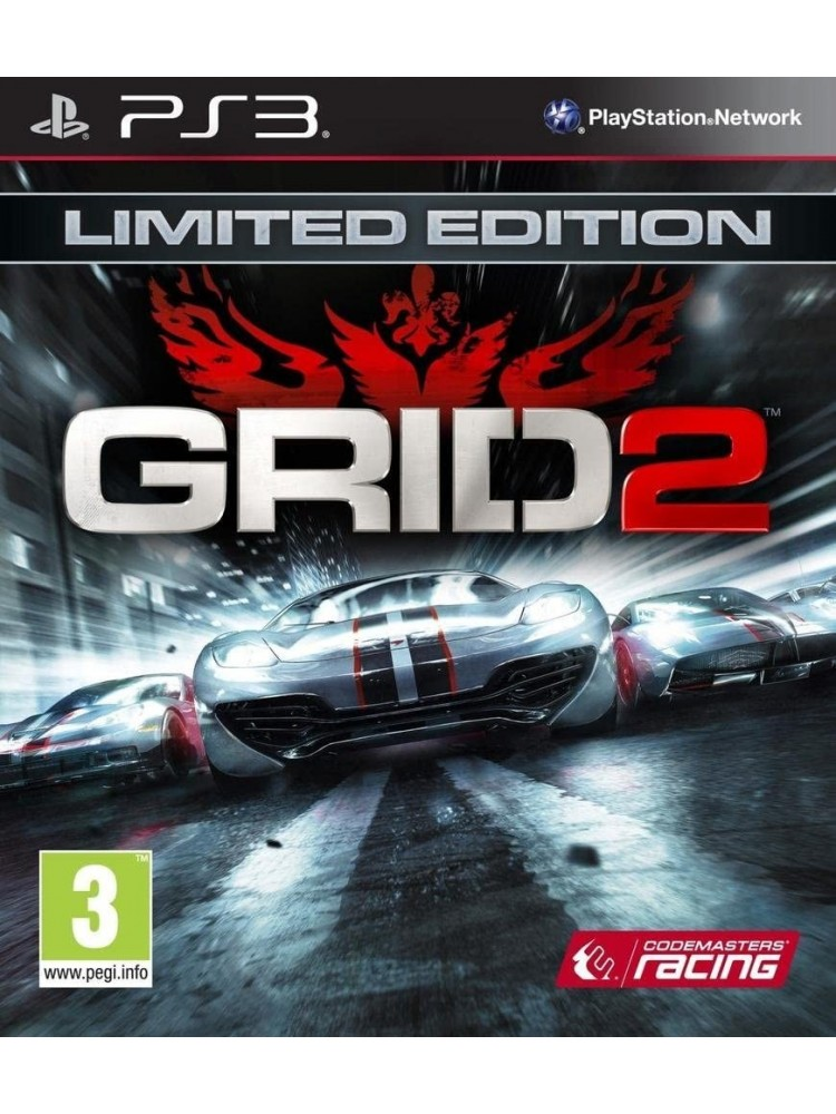 GRID 2 LIMITED EDITION PS3 FR OCCASION