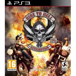 RIDE TO HELL PS3 EURO FR OCCASION