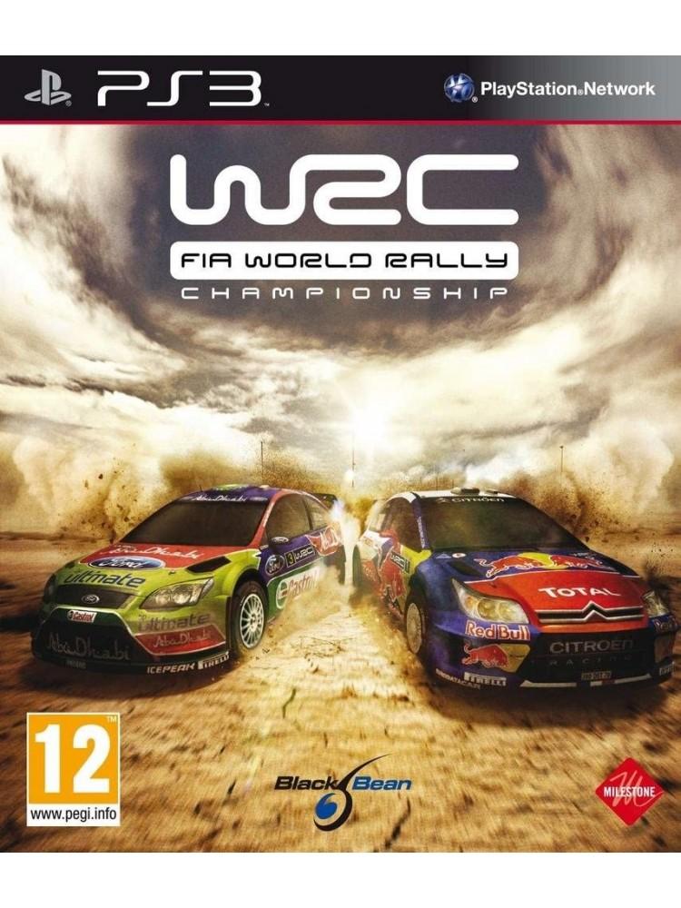 WRC FIA WORLD RALLY CHAMPIONSHIP PS3 PAL-FR OCCASION