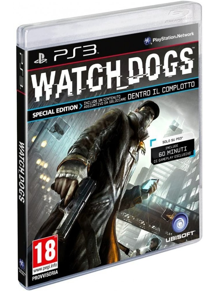 WATCH DOGS EDITION SPECIALE PS3 FR OCCASION