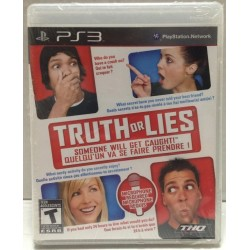 TRUTH OR LIES PS3 USA OCCASION