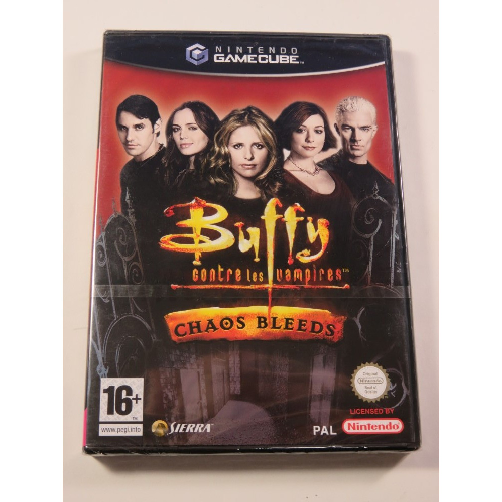 BUFFY CONTRE LES VAMPIRES - CHAOS BLEEDS GAMECUBE PAL-FR NEW
