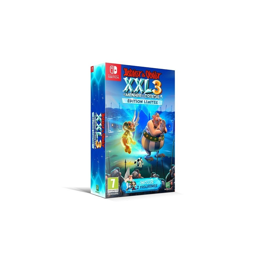 ASTERIX & OBELIX XXL 3 ET LE MENHIR DE CRISTAL LIMITED EDITION SWITCH FR OCCASION