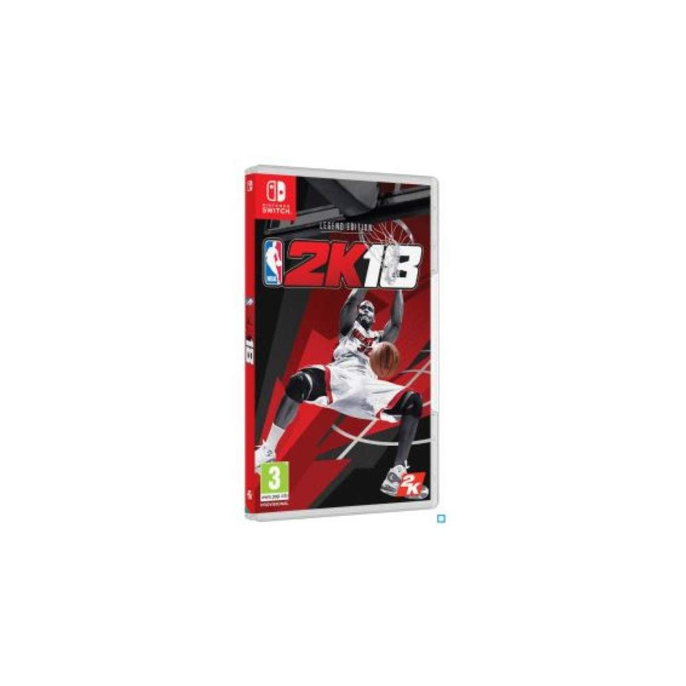 NBA 2K18 EDITION LEGEND SWITCH FR OCCASION