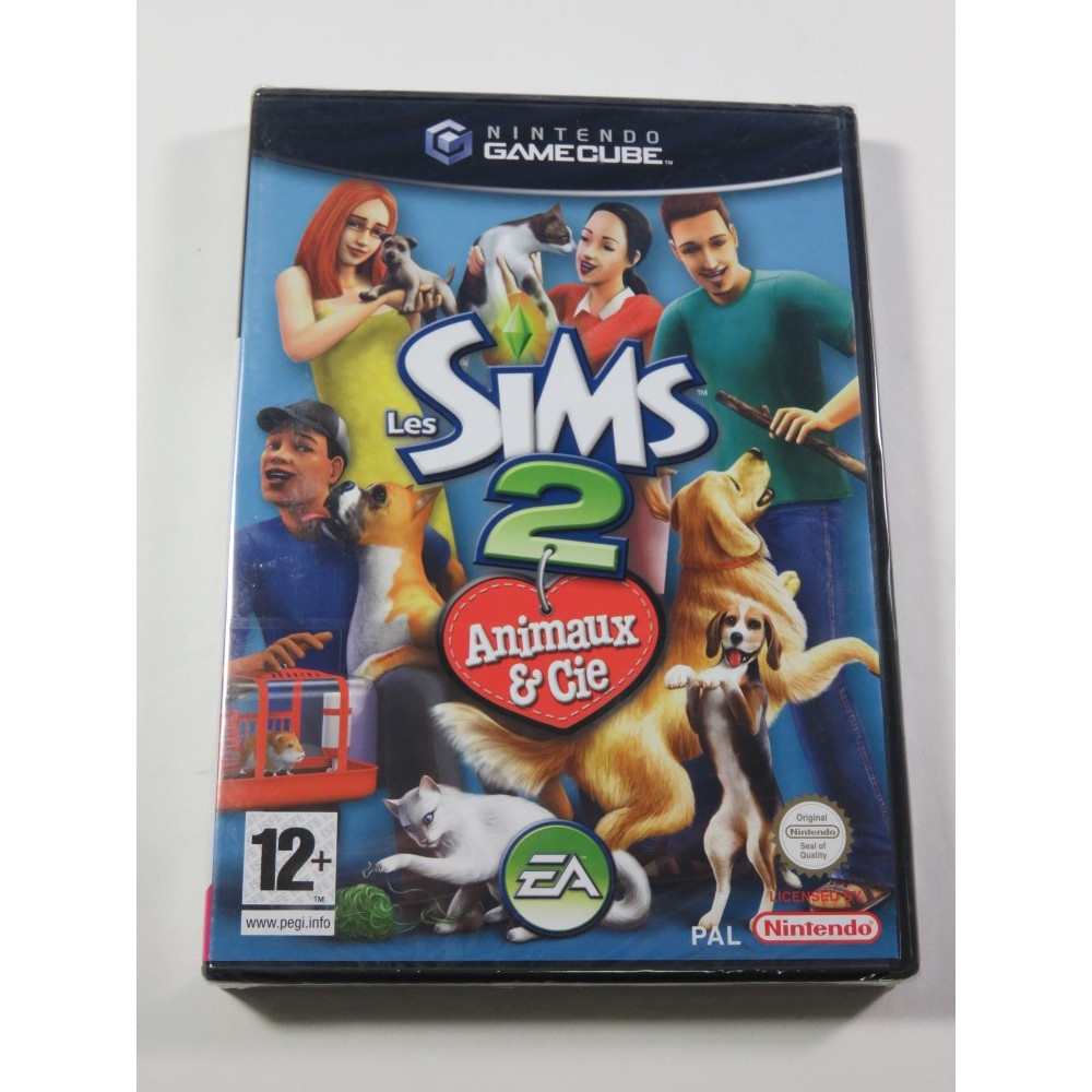 LES SIMS 2 - ANIMAUX & CIE GAMECUBE PAL-FR NEW