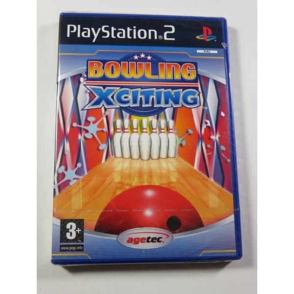 BOWLING XCITING PS2 PAL-EURO NEW