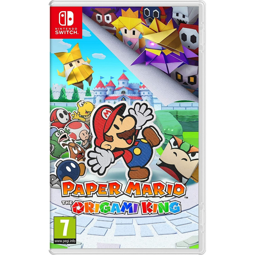 PAPER MARIO ORIGAMI KING SWITCH FR NEW