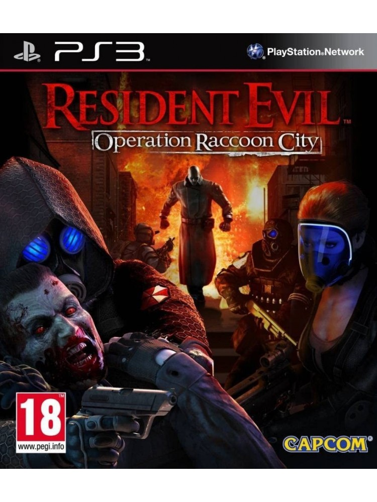 RESIDENT EVIL OPERATION RACOON CITY PS3 FR OCCASION
