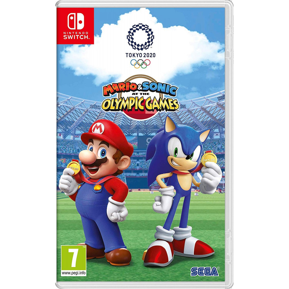 MARIO ET SONIC THE OLYMPIC GAMES SWITCH UK OCCASION