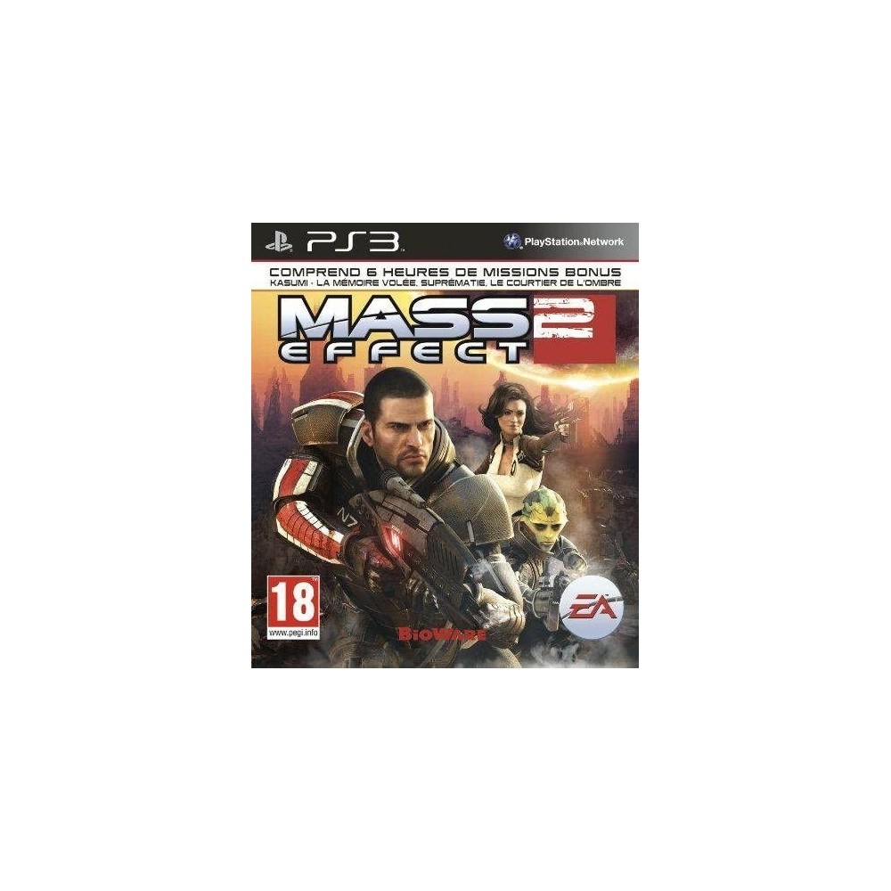 MASS EFFECT 2 PS3 FR OCCASION