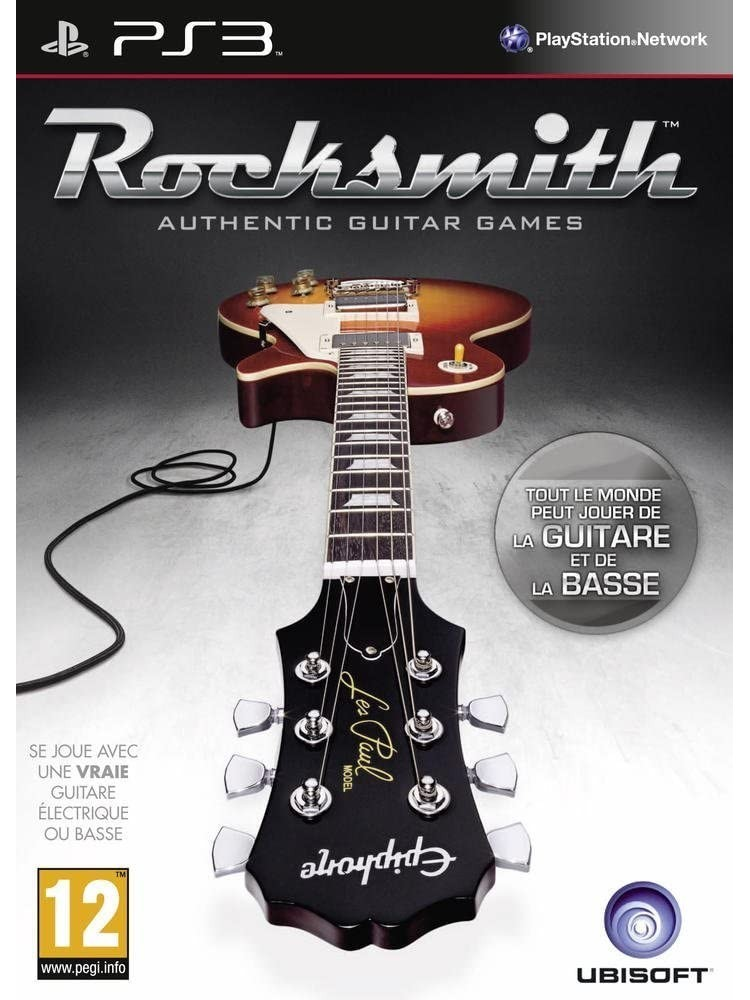 ROCKSMITH PS3 FR OCCASION (BUNDLE COPY)