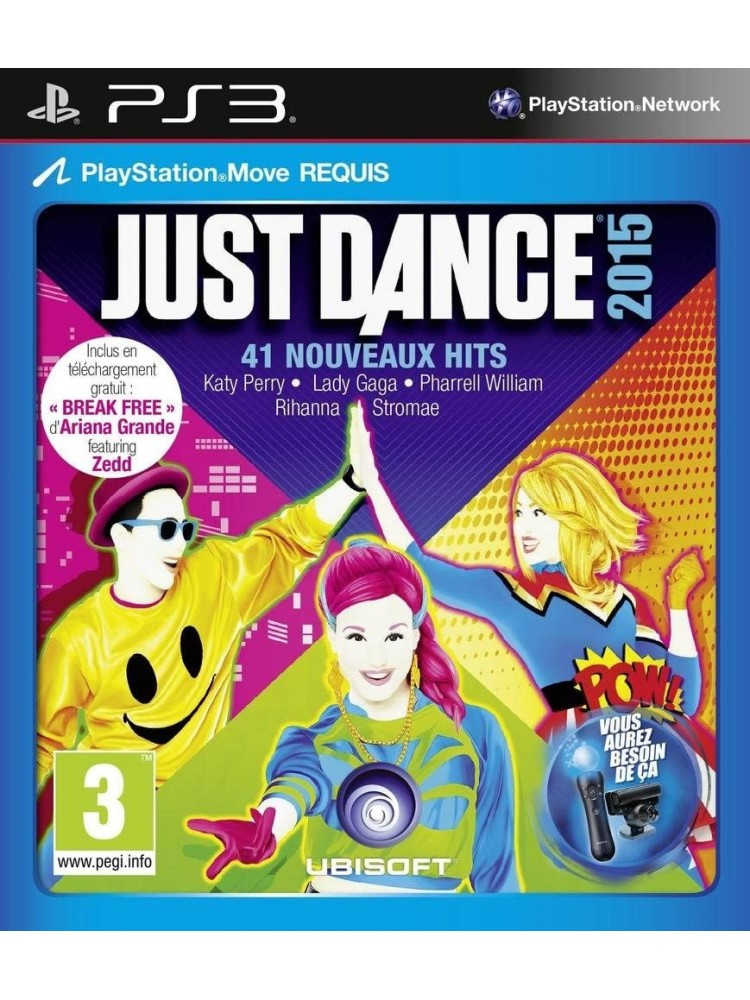 JUST DANCE 2015 PS3 FR OCCASION