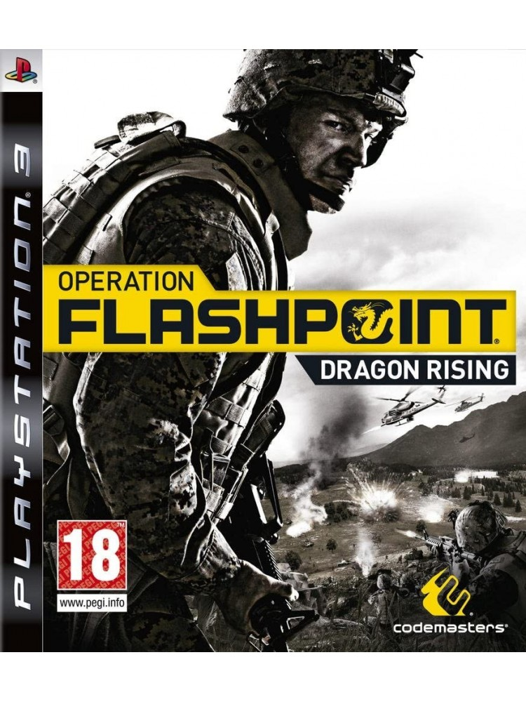 OPERATION FLASHPOINT DRAGON RISING PS3 EURO OCCASION