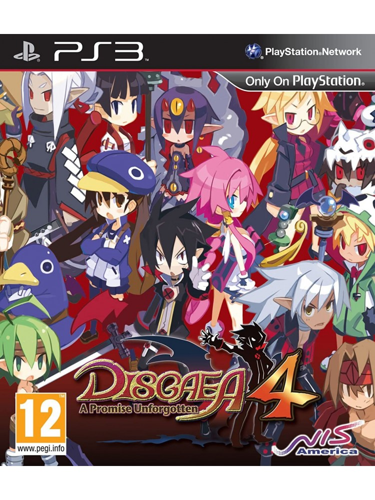 DISGAEA 4 A PROMISE UNFORGOTTEN PS3 UK OCCASION