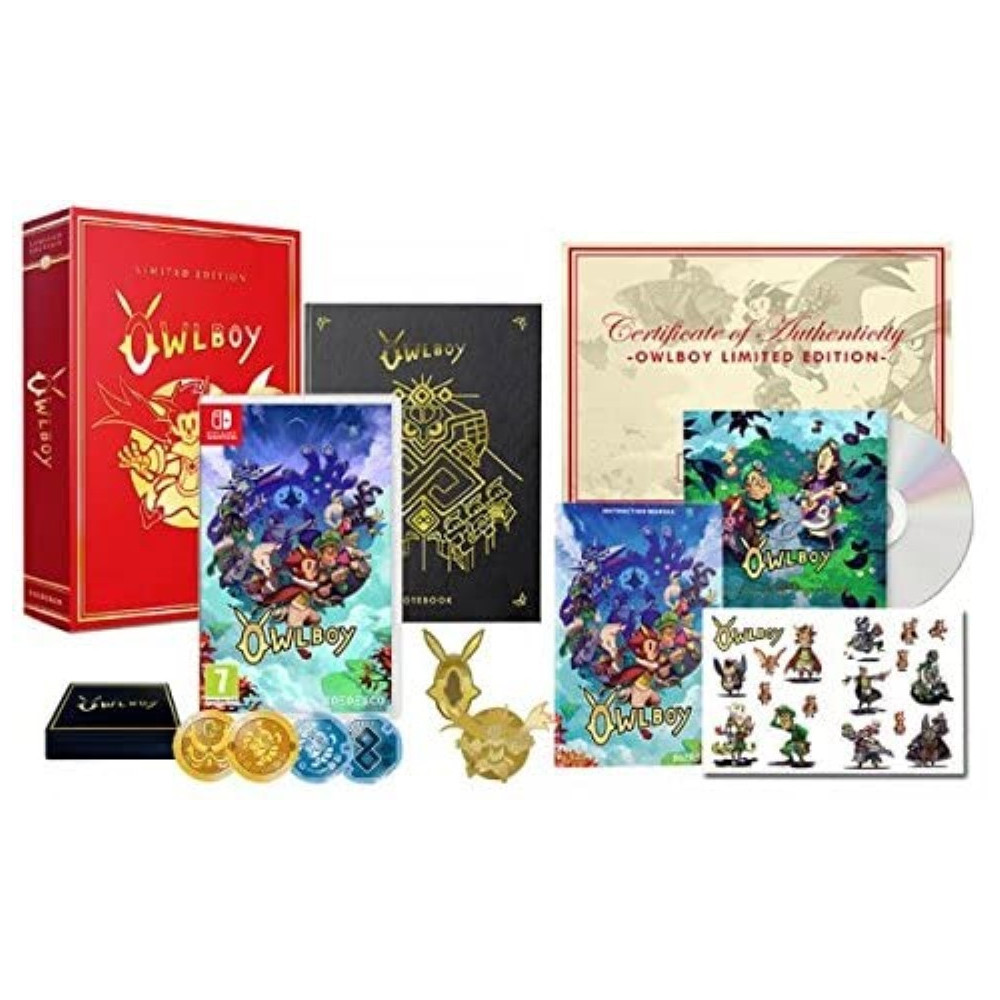 OWLBOY EDITION LIMITEE SWITCH OCCASION