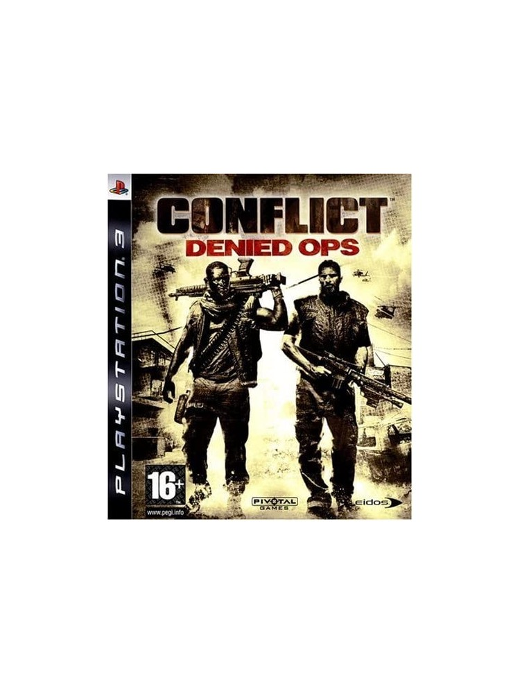 CONFLICT DENIED OPS PS3 FR OCCASION