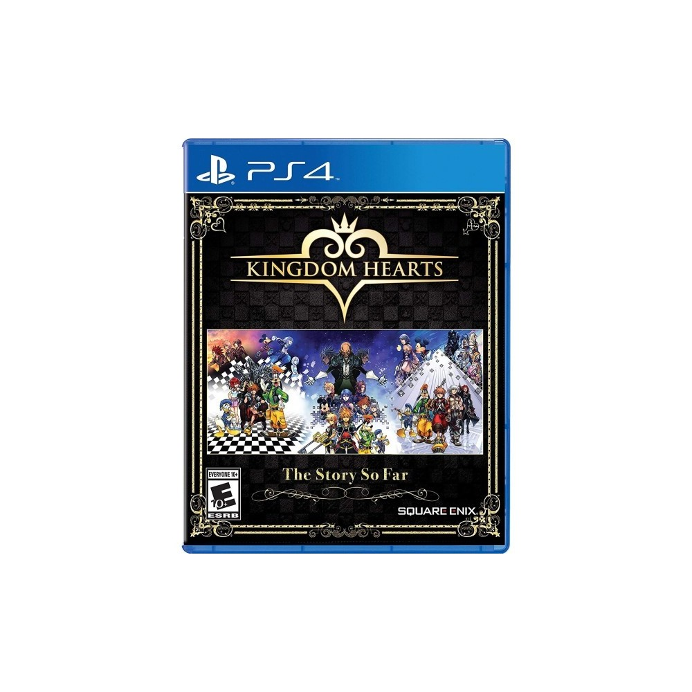 KINGDOM HEARTS THE STORY SO FAR PS4 US OCCASION
