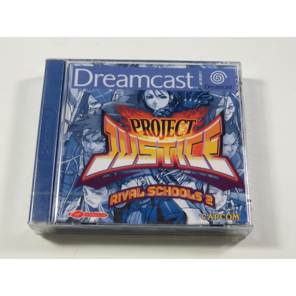 PROJECT JUSTICE RIVAL SCHOOLS 2 DREAMCAST PAL-EURO NEW
