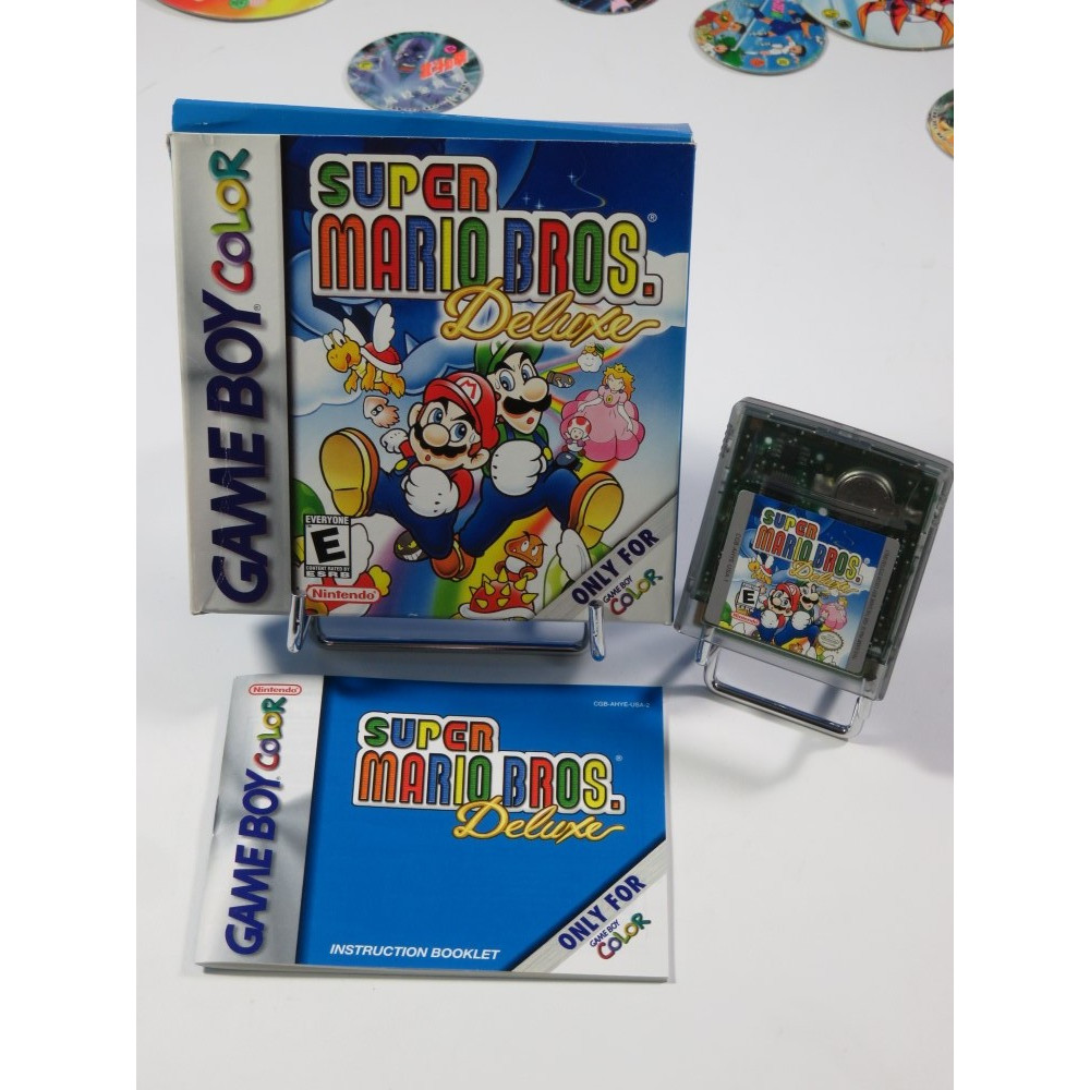 SUPER MARIO BROS DELUXE GAMEBOY COLOR USA OCCASION
