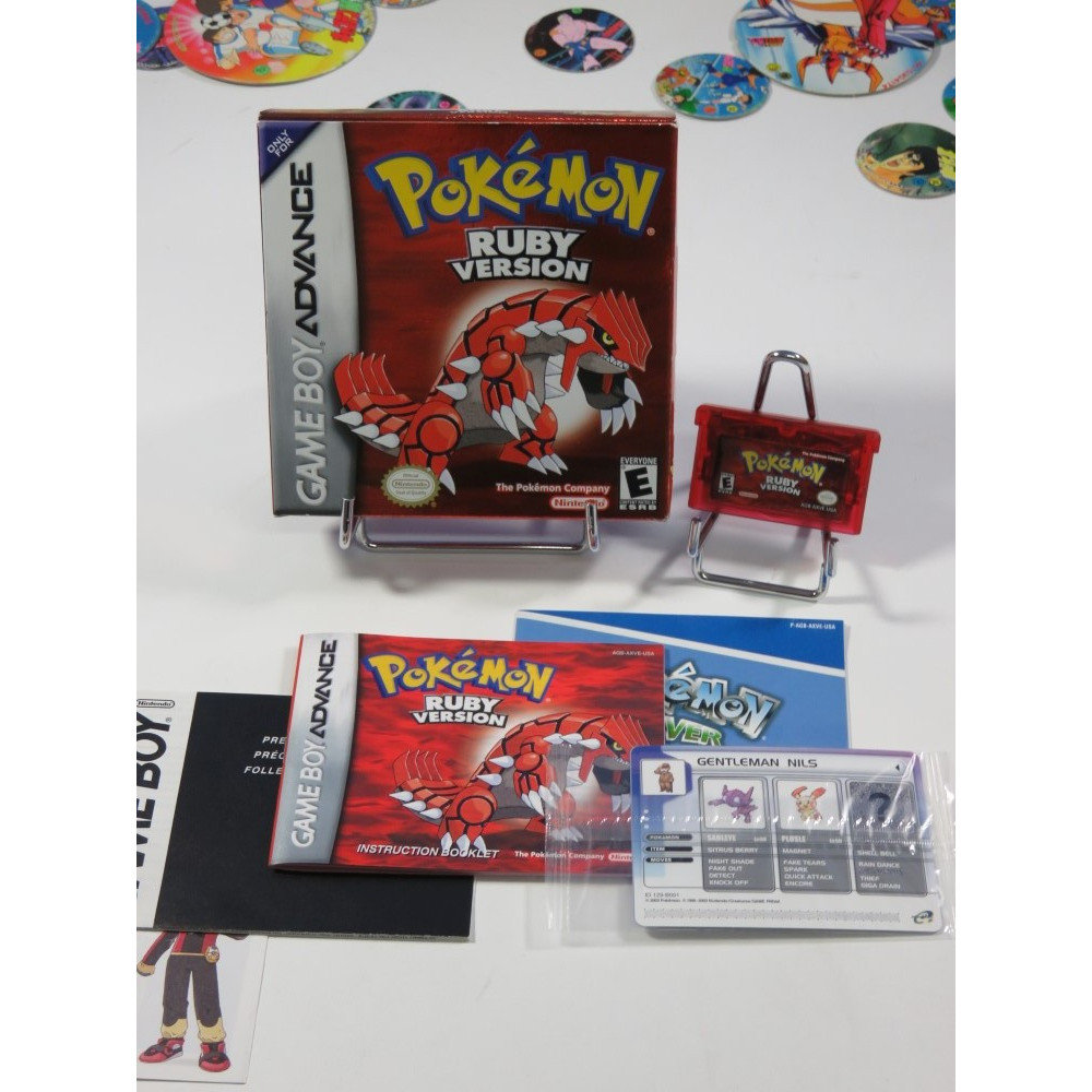 POKEMON RUBY VERSION GBA USA OCCASION