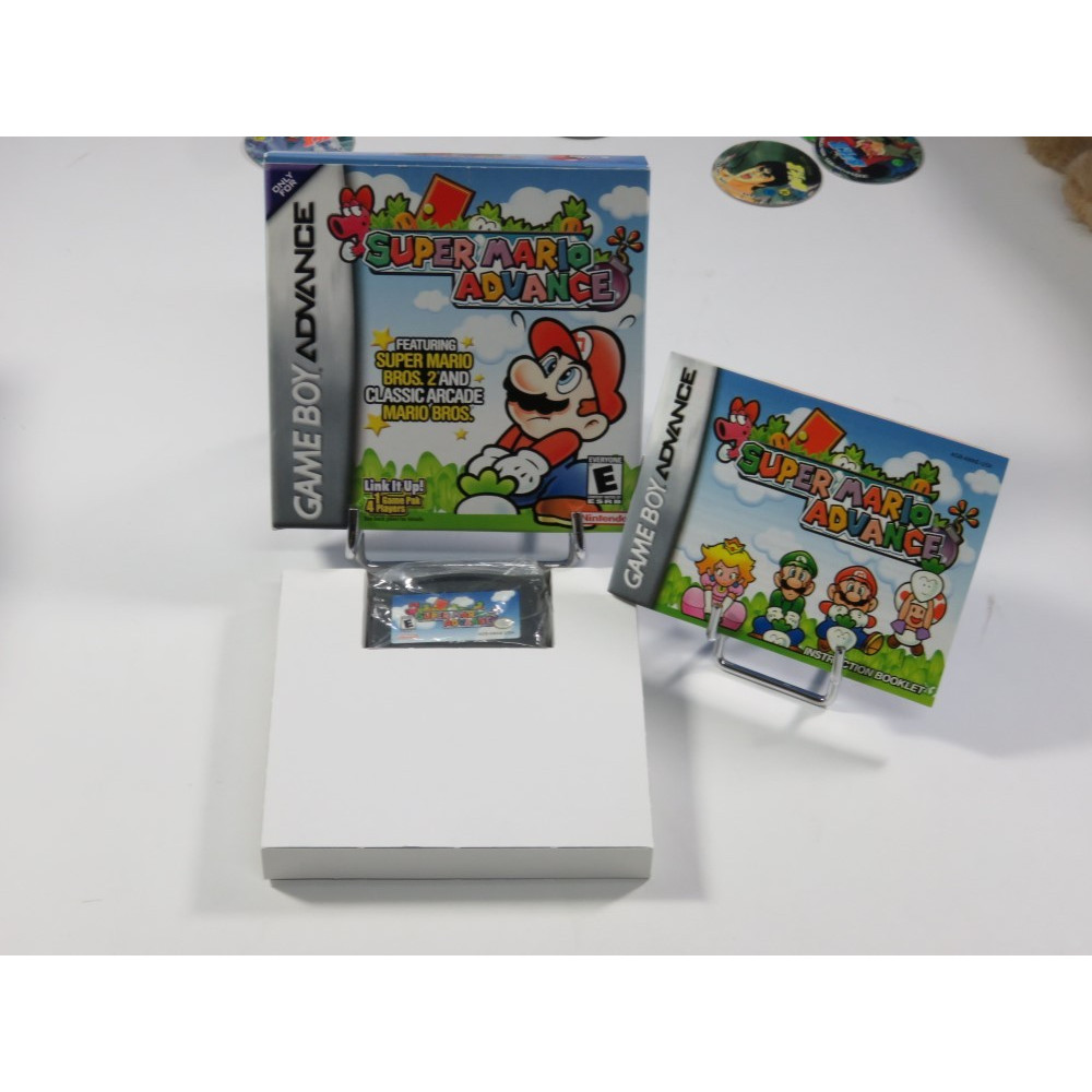 SUPER MARIO ADVANCE GBA PAL USA OCCASION