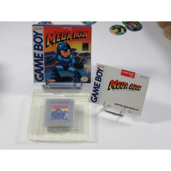 MEGAMAN DR. WILLY S REVENGE GAMEBOY USA OCCASION