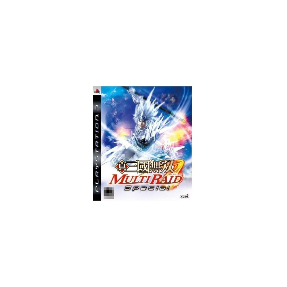 SHIN SANGOKU MUSOU MULTI RAID SPECIAL PS3 ASIA OCCASION