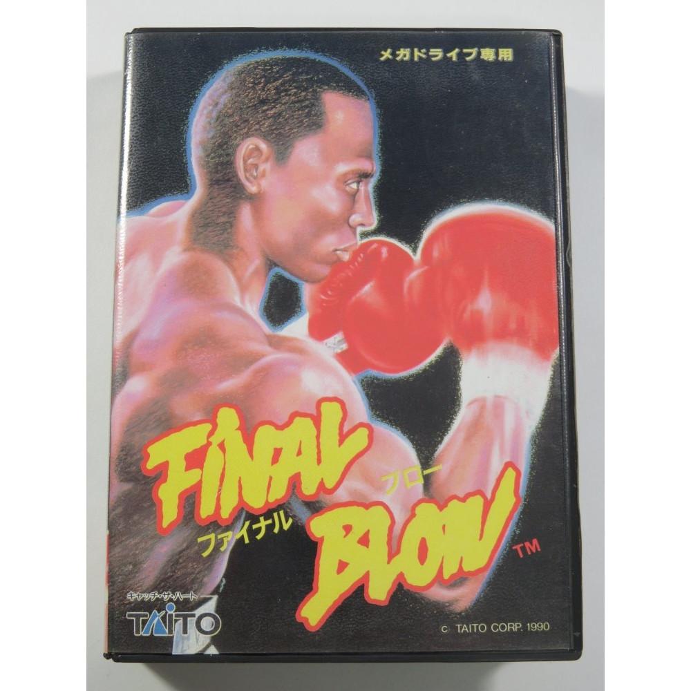 FINAL BLOW MEGADRIVE NTSC-JPN OCCASION (COMPLET BON ETAT) - TAITO 1990 BOXING -