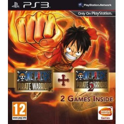 ONE PIECE PIRATE WARRIORS 1 & 2 PS3 PAL UK OCCASION