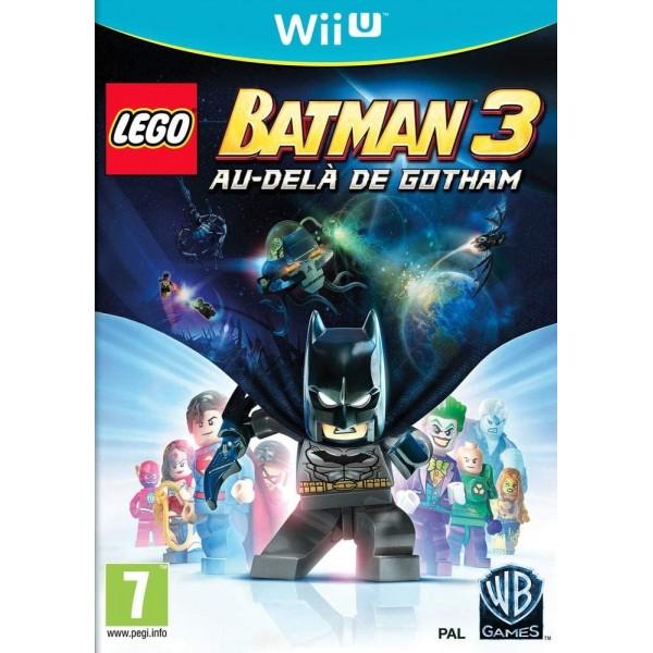 LEGO BATMAN 3 : AU-DELA DE GOTHAM WIIU PAL-FR OCCASION